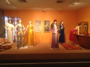 A tableau from The Age of Aquarius at the Dowse.