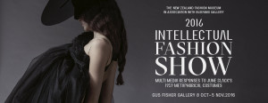 Intellectual Fashion Show 2016, invitation