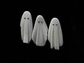 Jane Dodd - Bone 'Ghost Brooches'