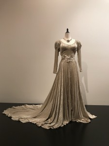 Edith Head Wedding dress worn by Barbara Stanwyck in Sorry Wrong Number