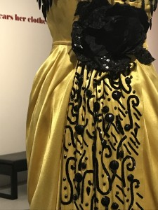 Edtih Head Evening gown worn by Betty Hutton in Somebody Loves Me PP 1953 skirt detail