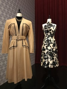 Hooded coat worn by Barbara Stanwyck The Strange love of Marther Ivers 1946 and Cocktail dress