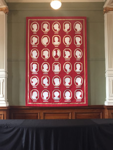 Suffrage125 by Genevieve Packer at Wellington Museum