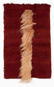 Credit: Zena Abbott, Fibre Fall No. 1, date unknown. Collection of The Dowse Art Museum, gifted by the Abbott Family 2018. Image supplied.